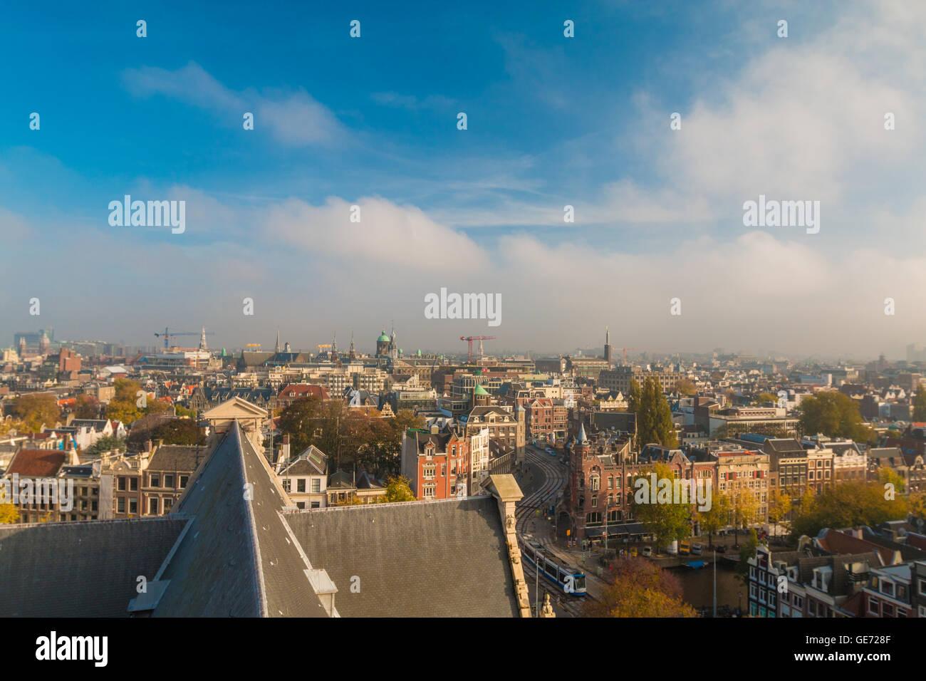 Dans Amsterdam Pays-Bas Banque D'Images