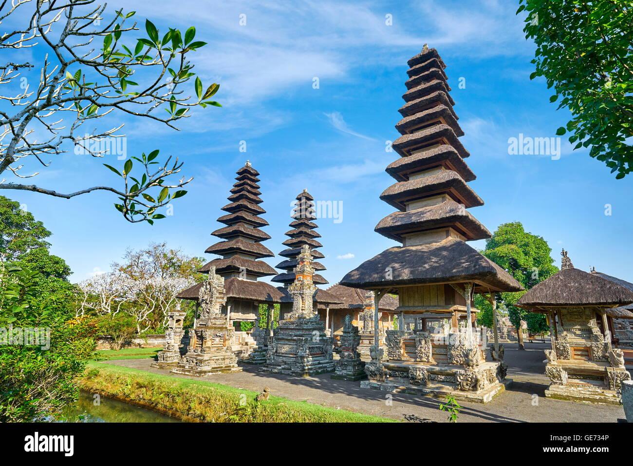 Temple Royal de Mengwi, Pura Taman Ayun Temple, Bali, Indonésie Photo Stock