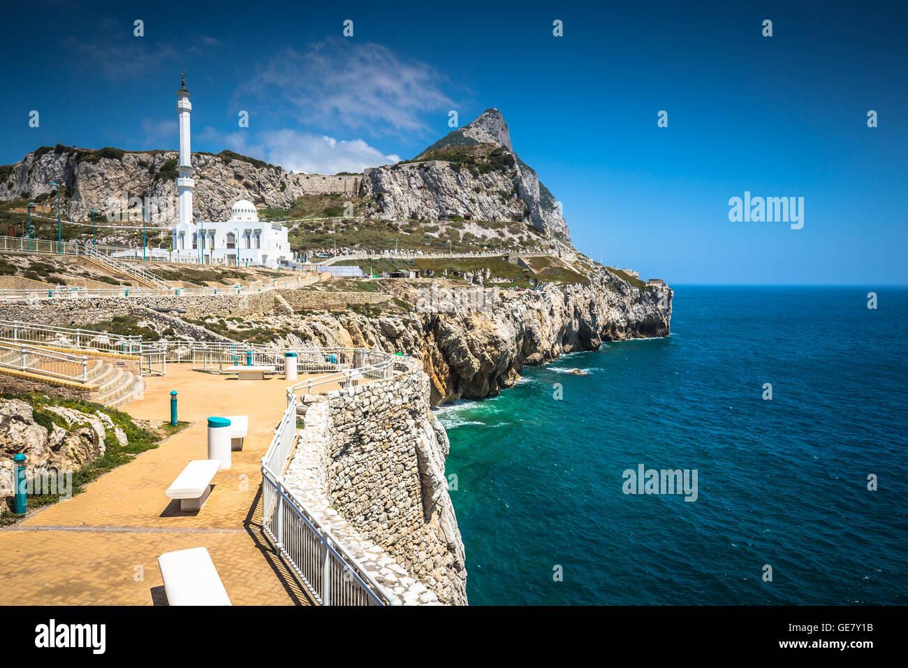 Vu de Gibraltar Point Europa Photo Stock
