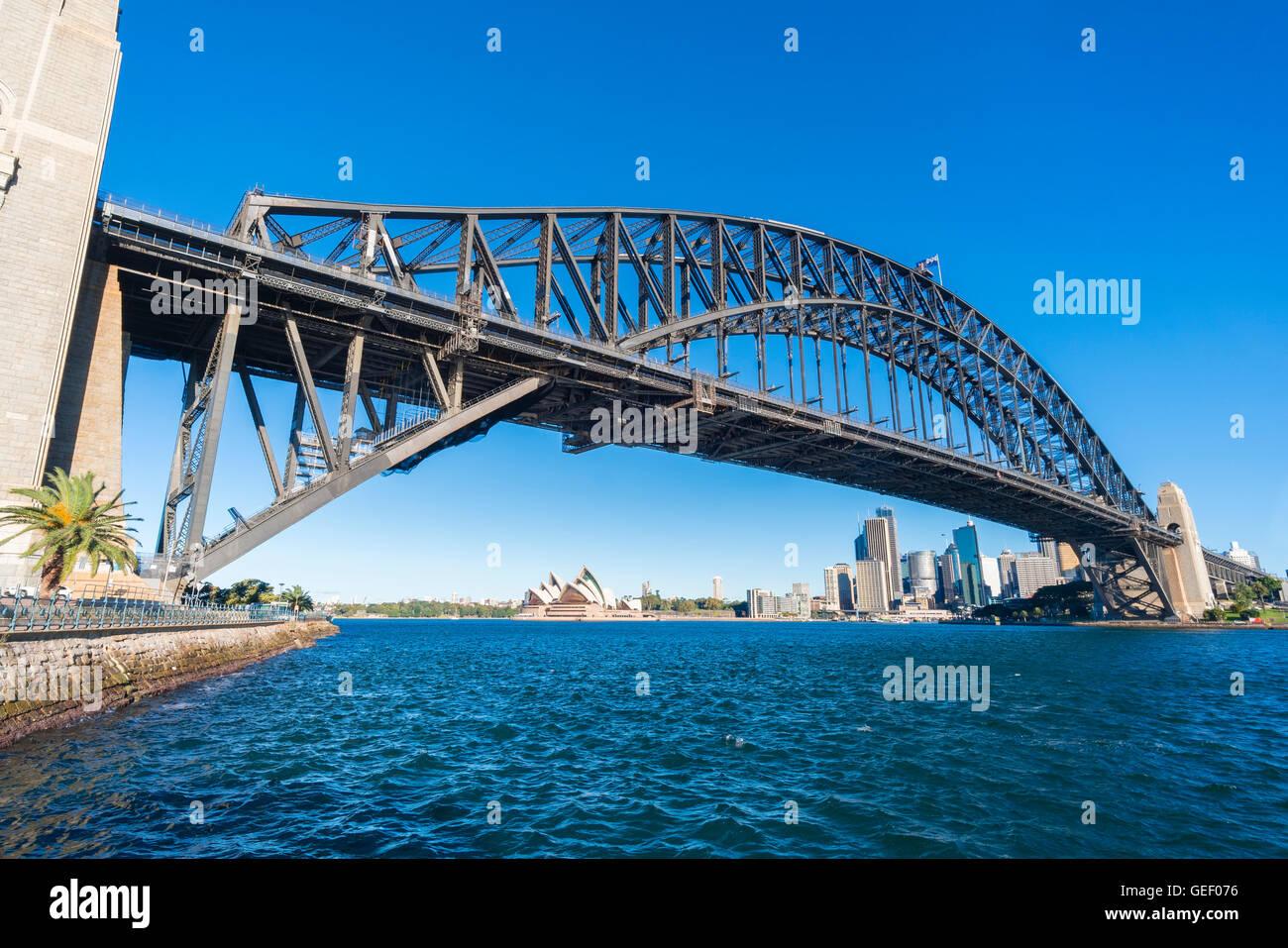 Sydney CBD dans journée Photo Stock