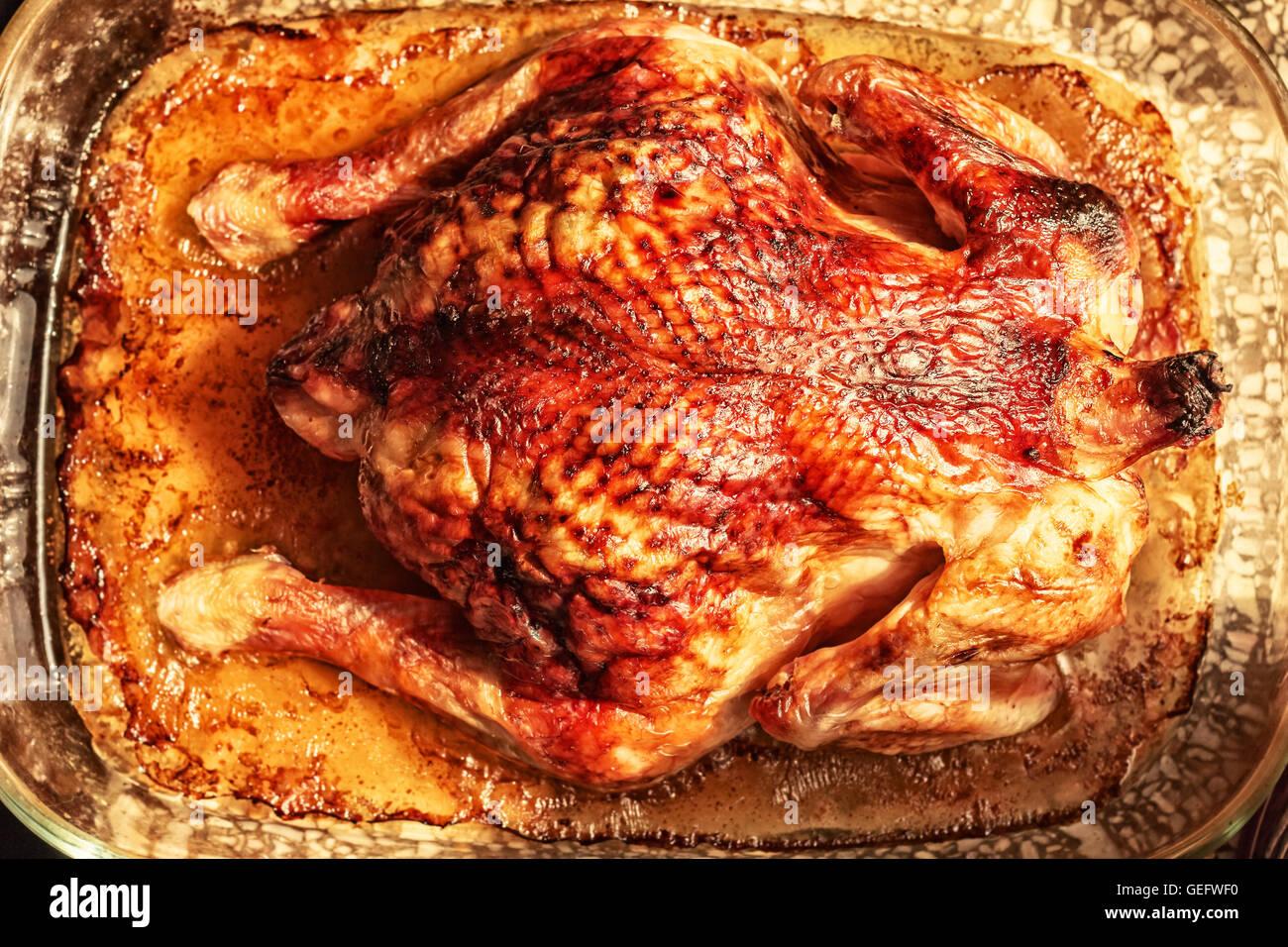 Hors-d'or fried chicken pour partie et le dîner Photo Stock