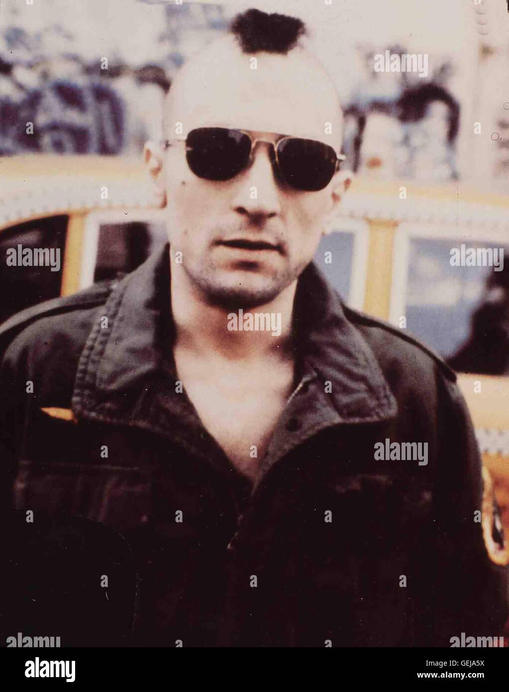 Travis (Robert De Niro) *** légende locale *** 1976, 1990er, années 90, Film, chauffeur de taxi, chauffeur Photo Stock