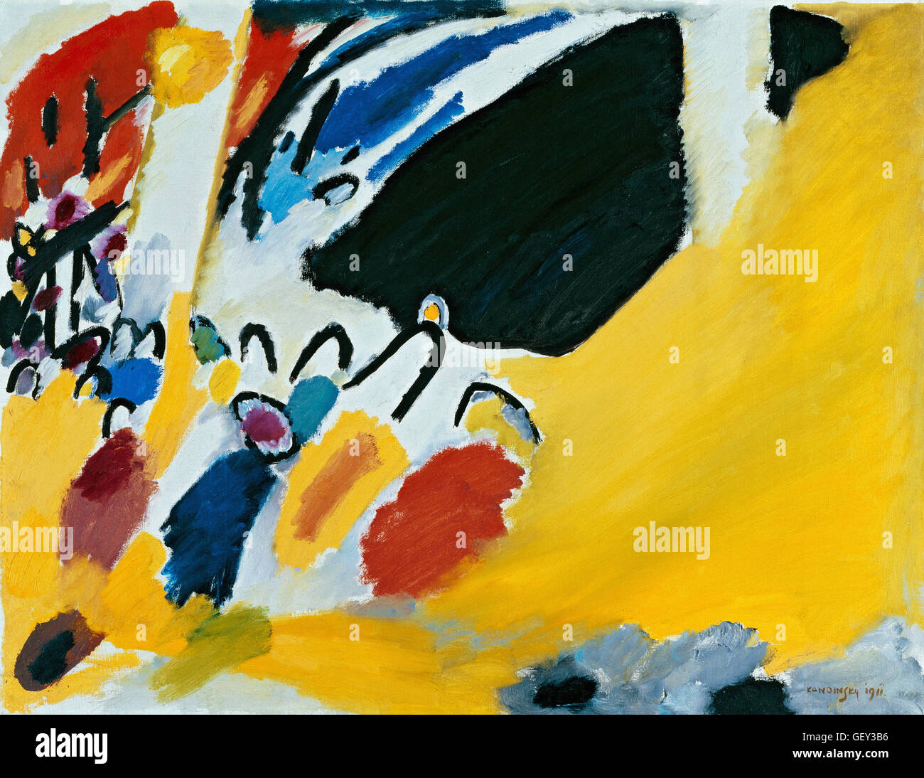 Wassily Kandinsky - Impression III (Concert) Photo Stock