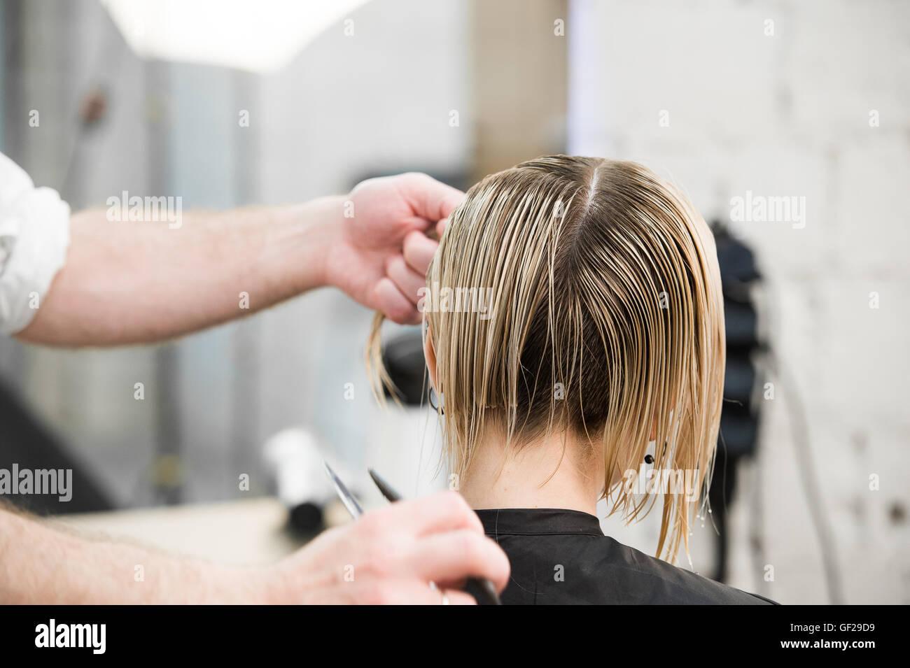 Coupe de cheveux rasoir electrique