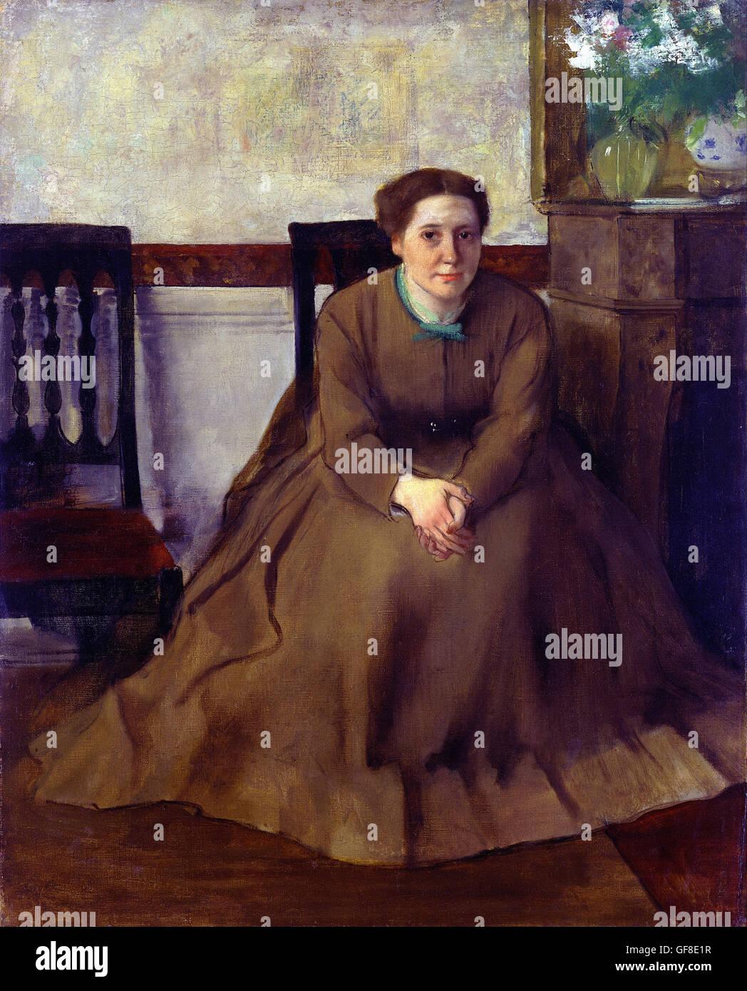 Edgar Degas - Victoria Dubourg Photo Stock