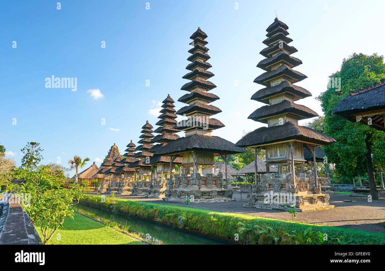 Temple Royal de Mengwi, Pura Taman Ayun, Bali, Indonésie Photo Stock