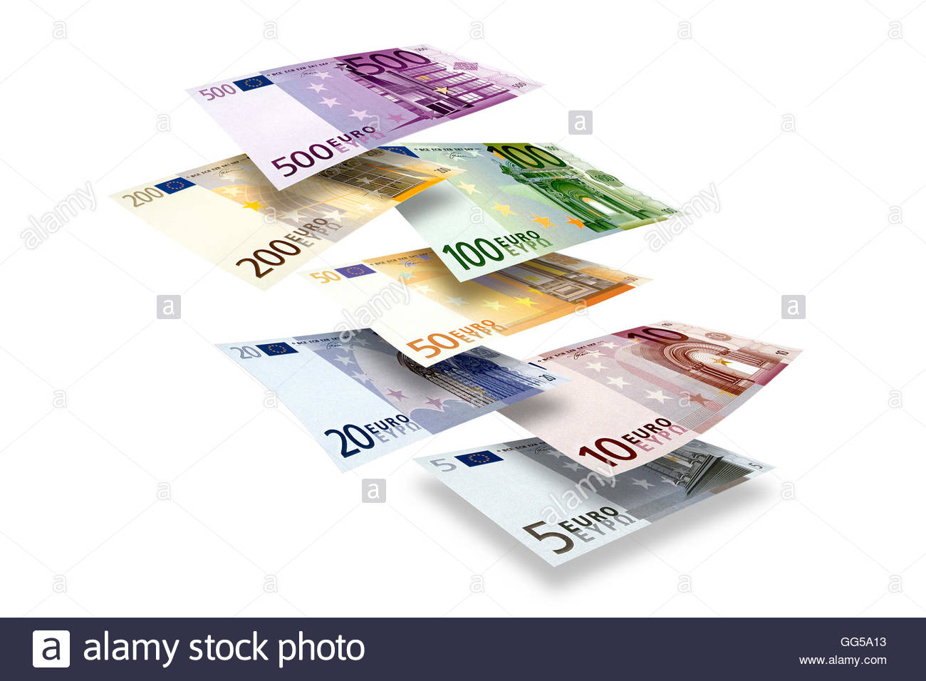 Stash of euros photos stash of euros images alamy for Fenetre flottante