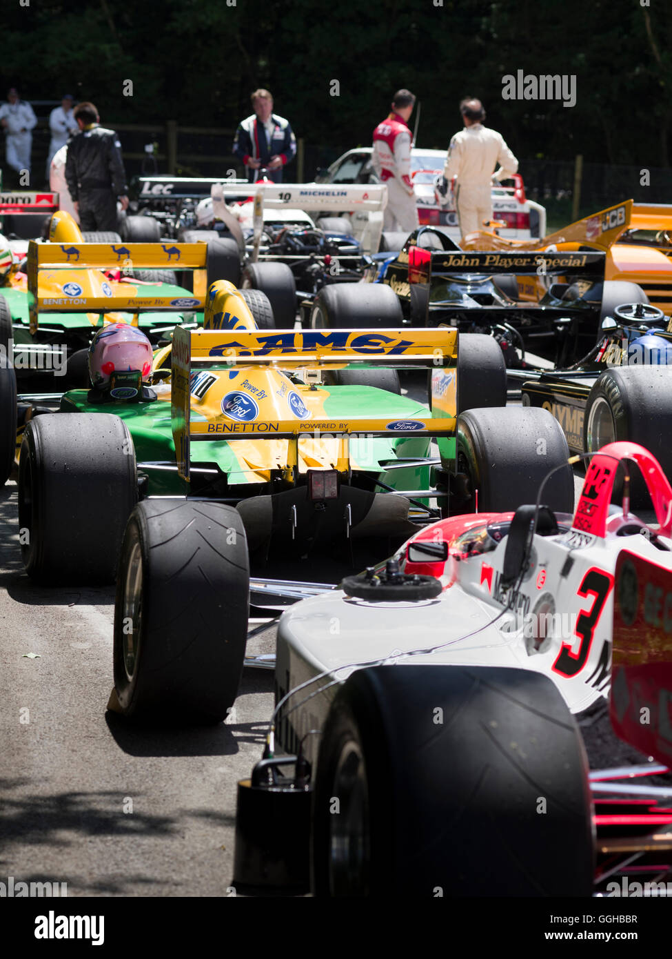 classic formula 1 racing cars photos classic formula 1 racing cars images alamy. Black Bedroom Furniture Sets. Home Design Ideas