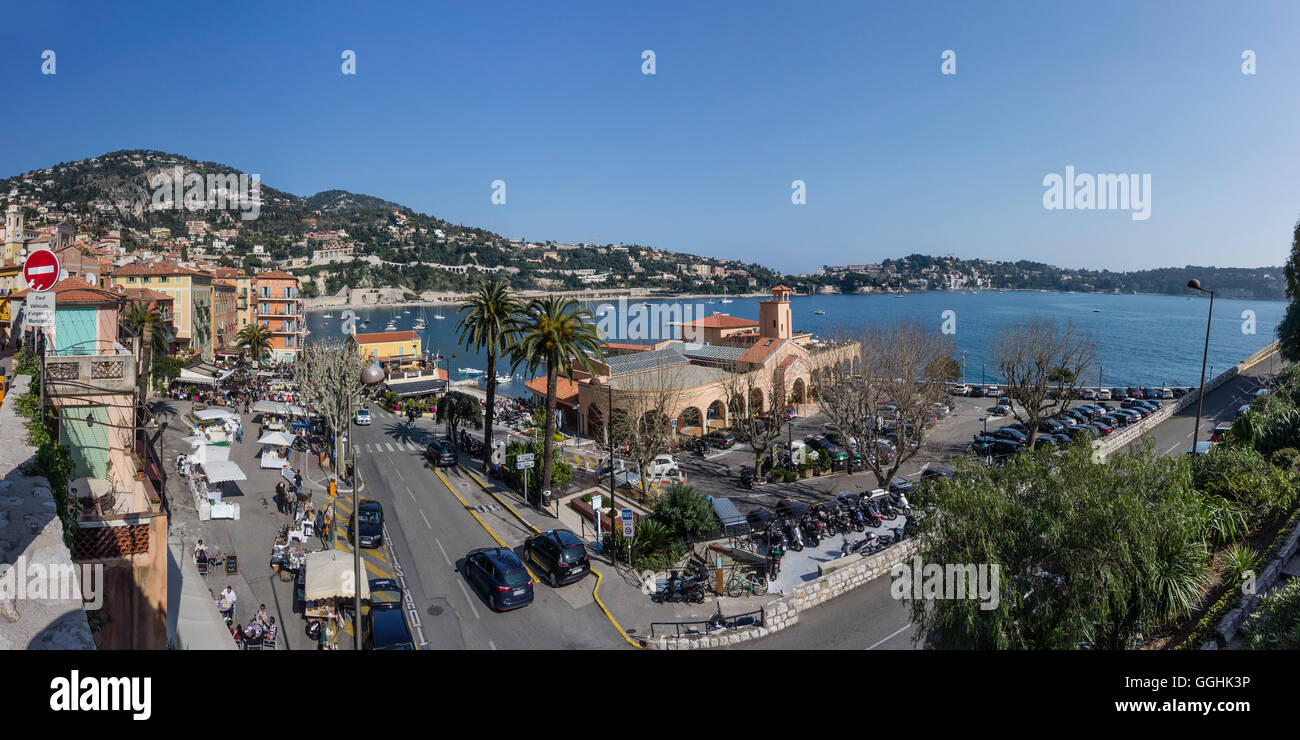 Villefranche Sur Mer, Alpes-Maritimes, Provence-Alpes-Côte d'Azur, France Photo Stock