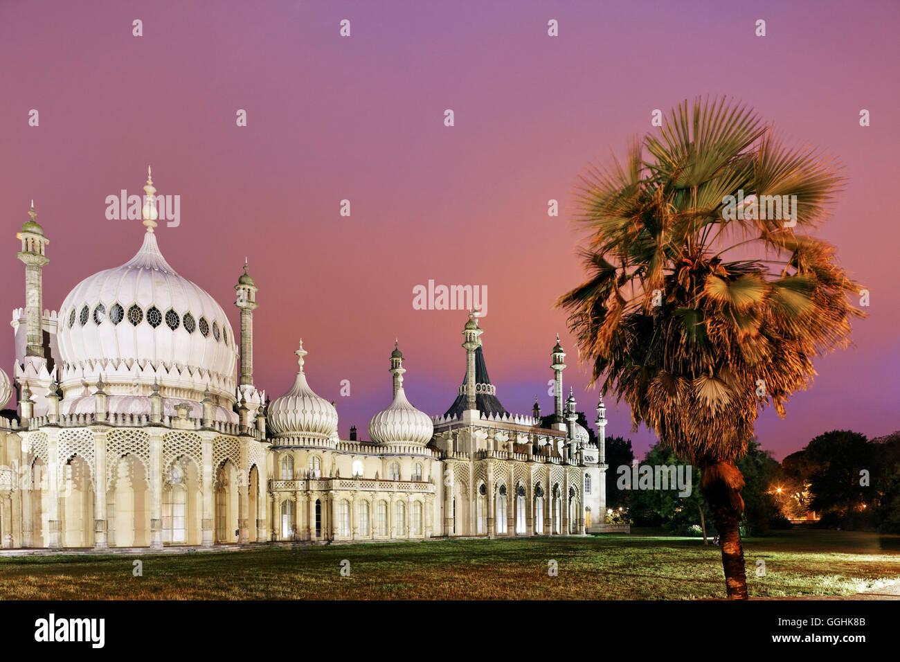 Royal Pavilion, Brighton, East Sussex, Angleterre, Grande-Bretagne Photo Stock