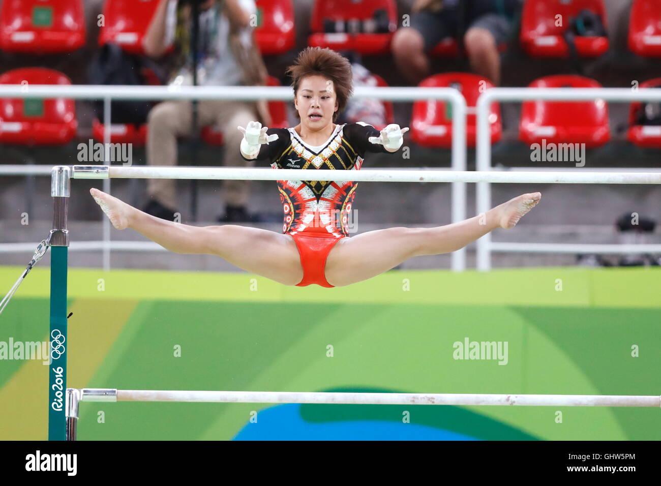 Rio de Janeiro, Brésil. Août 11, 2016. Mai Murakami (JPN): gymnastique artistique finale concours Photo Stock