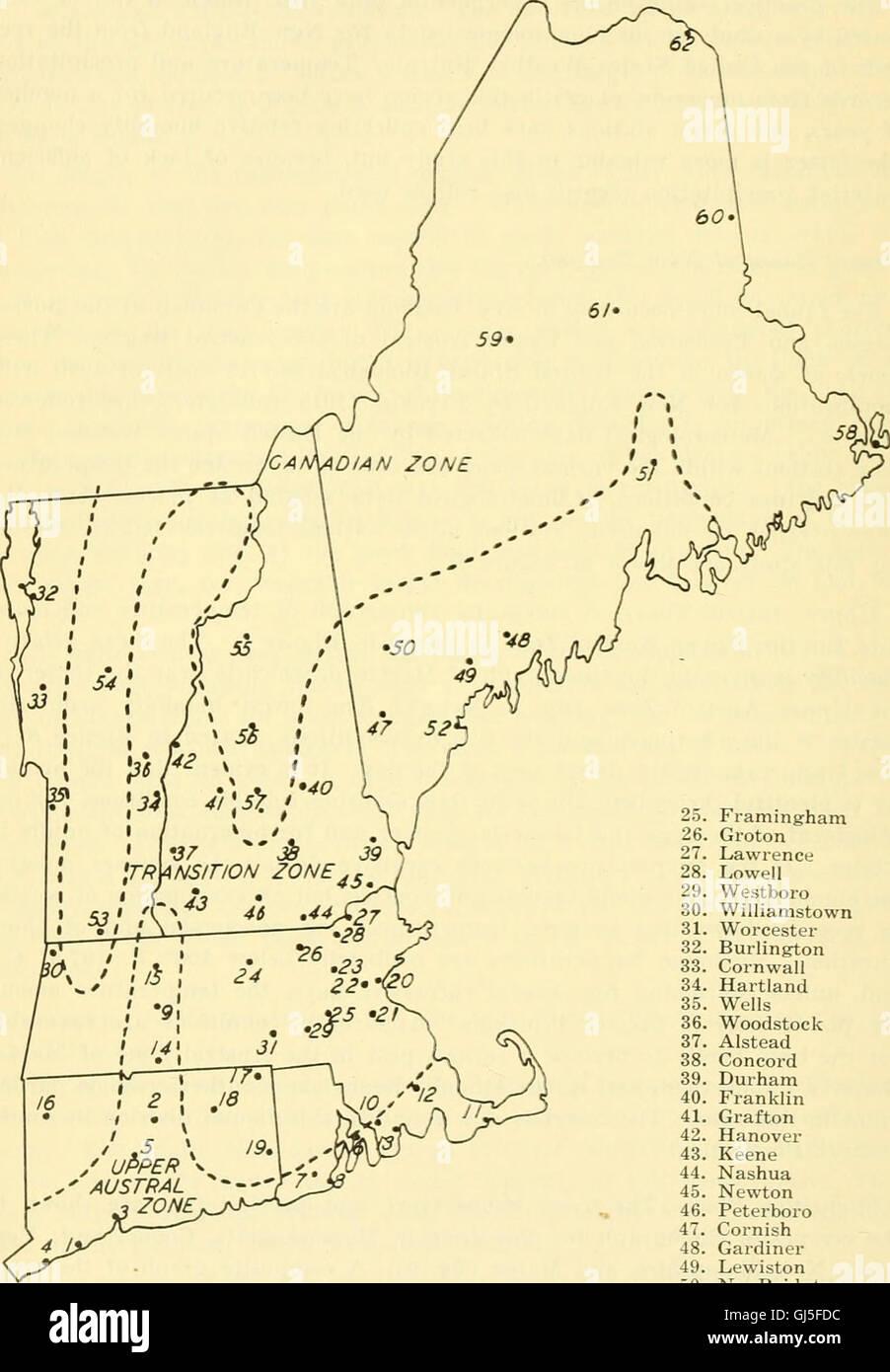 Bulletin - Massachusetts Agricultural Experiment Station (1907) Banque D'Images