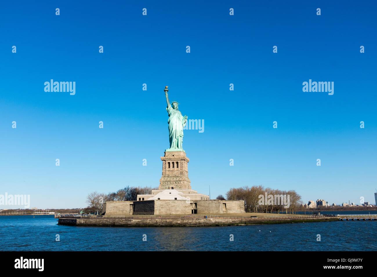 USA New York Statue de la Liberté Photo Stock