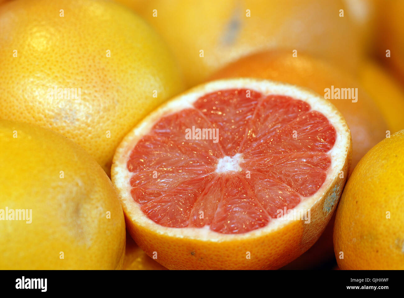 Vitamin fruit sour Photo Stock