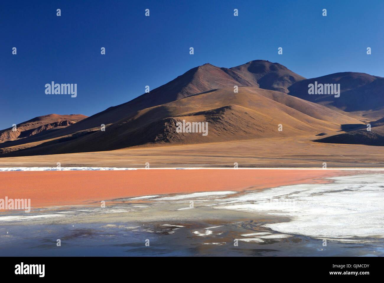 L'Amérique du Sud l'eau douce du lagon Banque D'Images