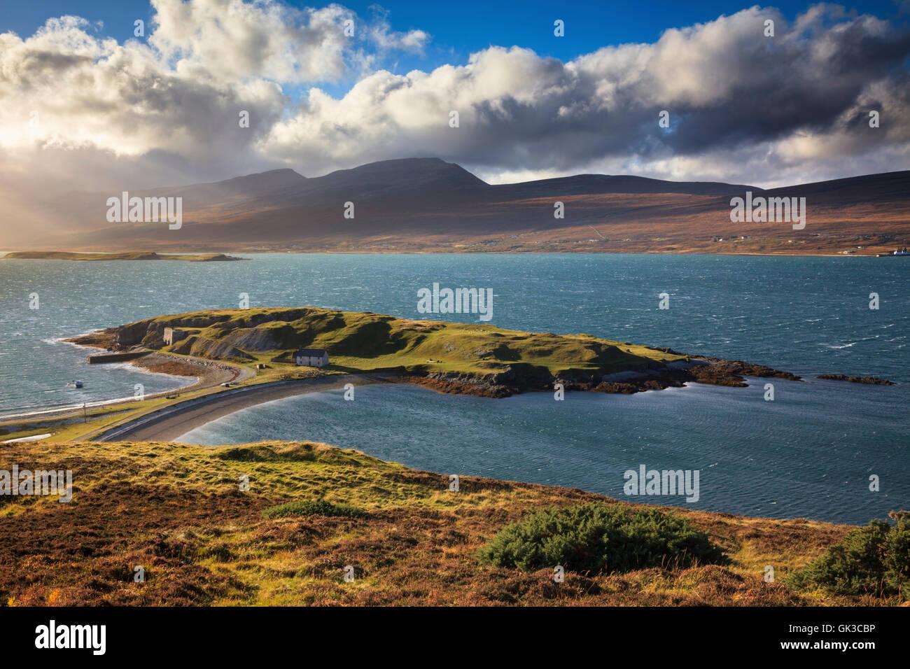 Loch Eriboll, au nord-ouest de l'Ecosse Photo Stock