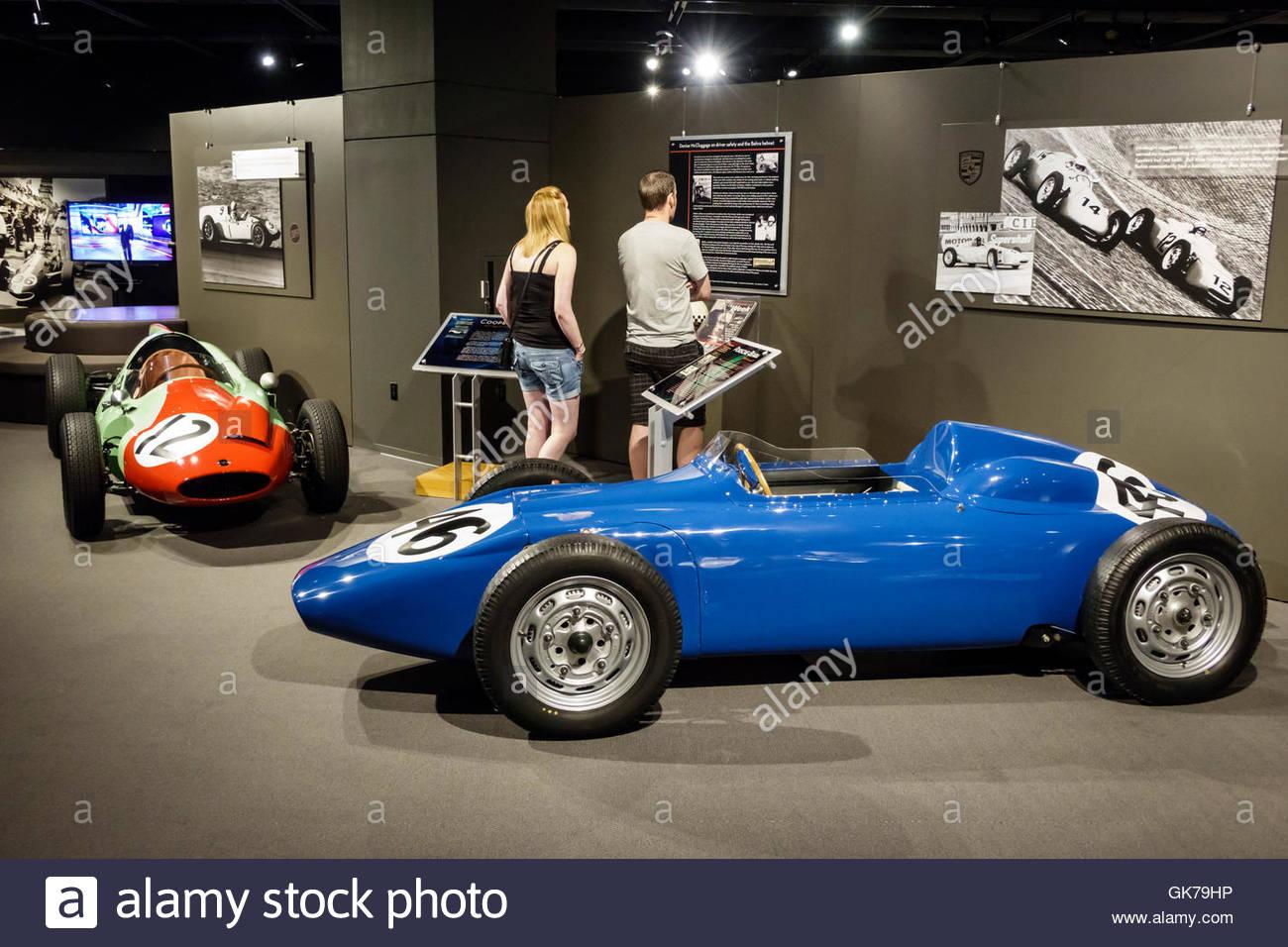 Naples Floride Institut de recherche automobile Tours voiture automobile museum Miles Collier collection privée Photo Stock