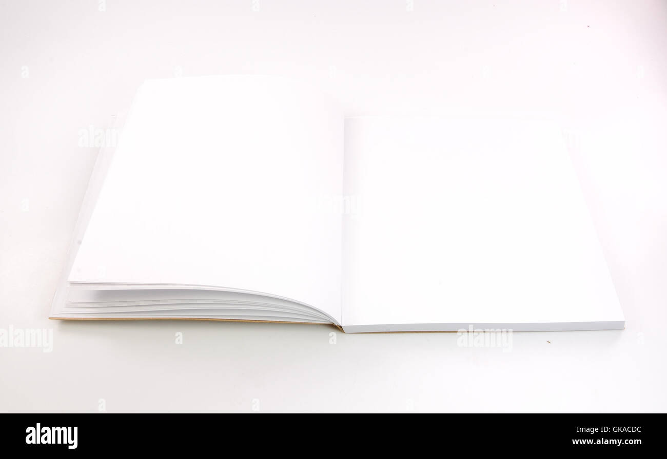 Brochure de l'enseignement de l'objet Photo Stock