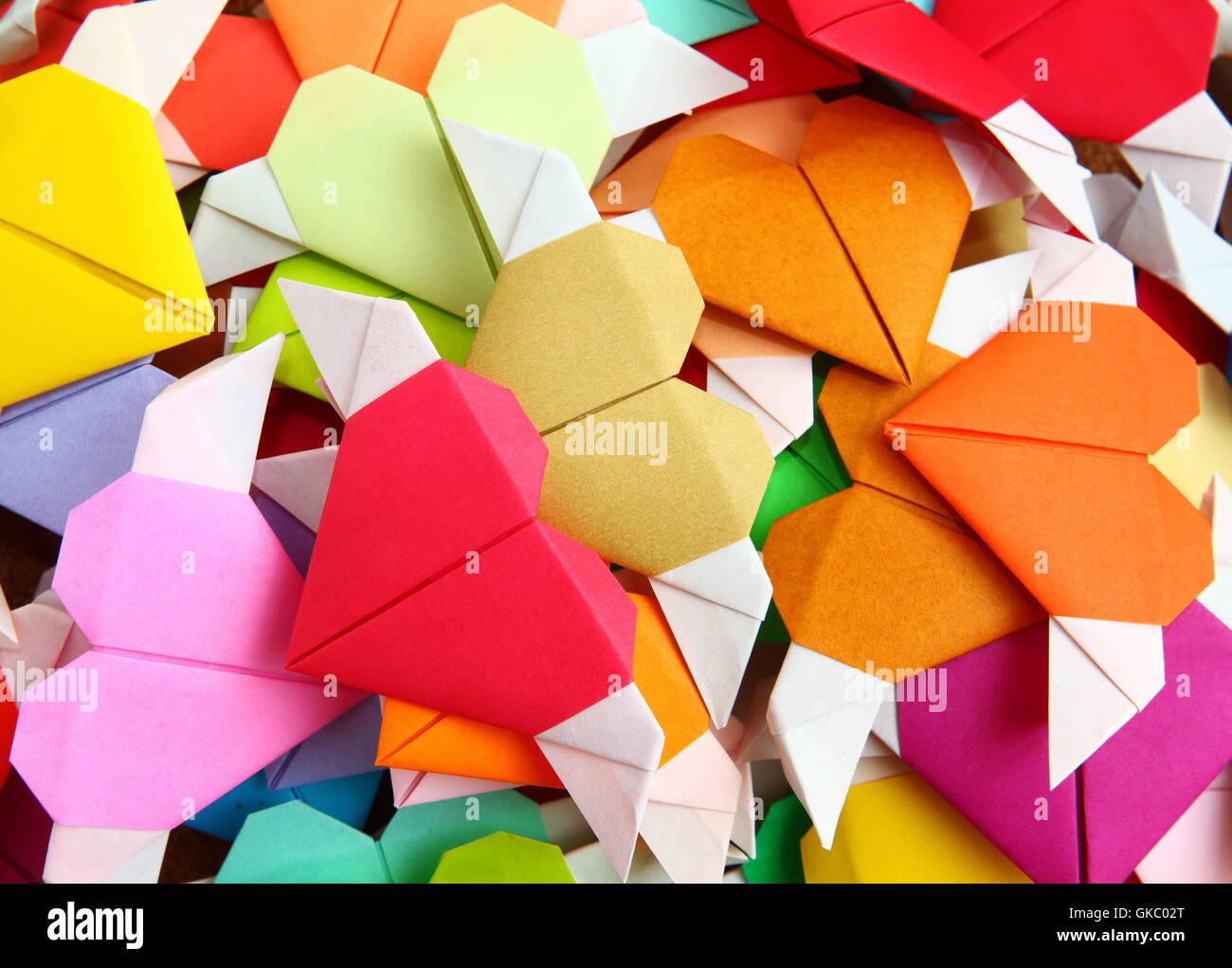 Modèle couleur actuelle Photo Stock