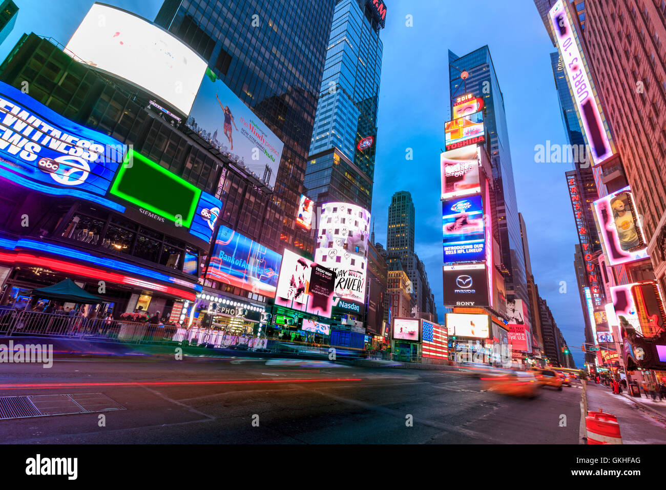 USA, New York, New York, Times Square Photo Stock