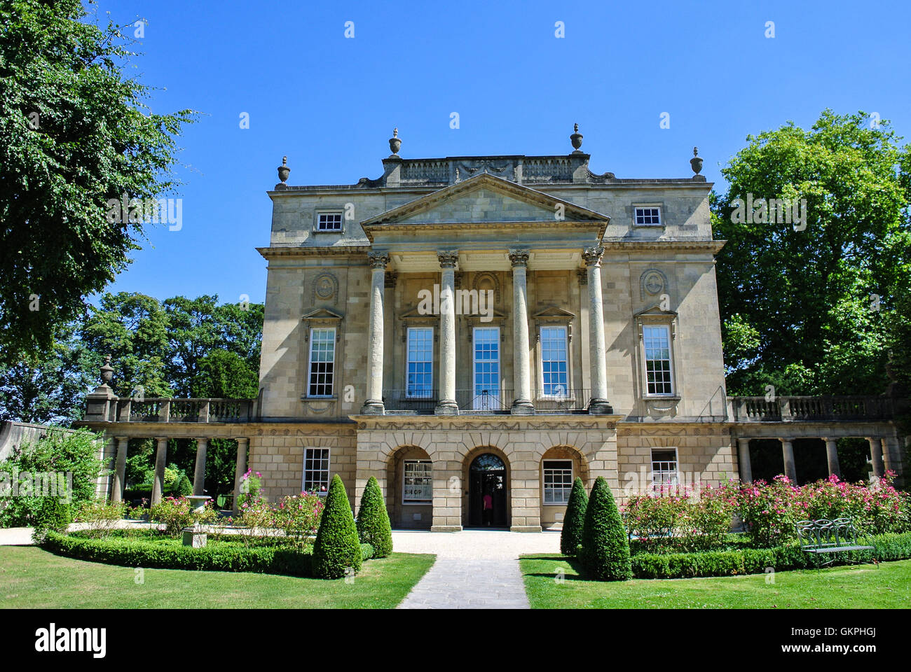 La baignoire Holburne Museum dans le Somerset England UK Photo Stock