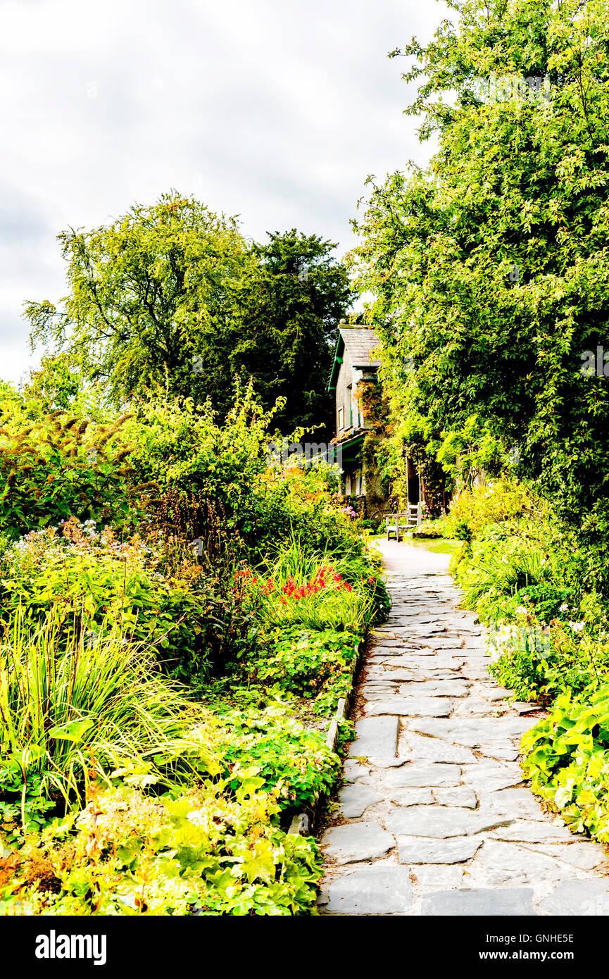 Colline, Anwesen von Beatrix Potter; accueil de Beatrix Potter Banque D'Images
