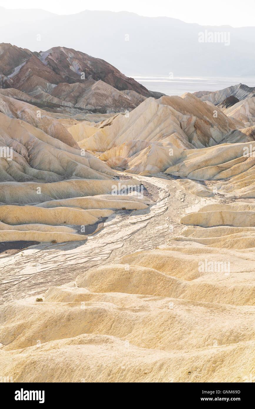 Le désert de la Death Valley National Park Photo Stock