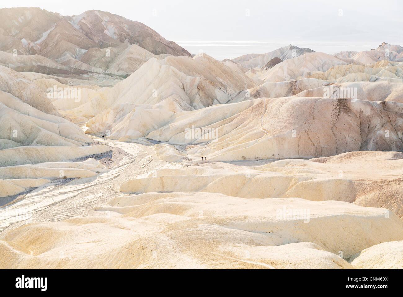 Dans Zabriskie Point Death Valley National Park Photo Stock
