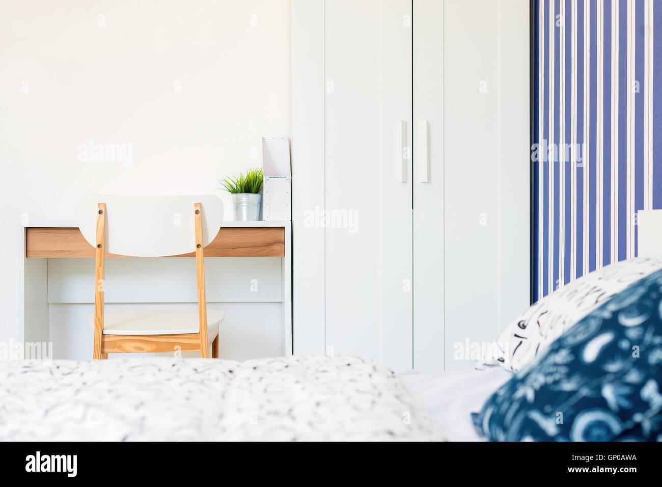 Papier Peint Deco Marine décoration maison, blanc et bleu marine en bois thème