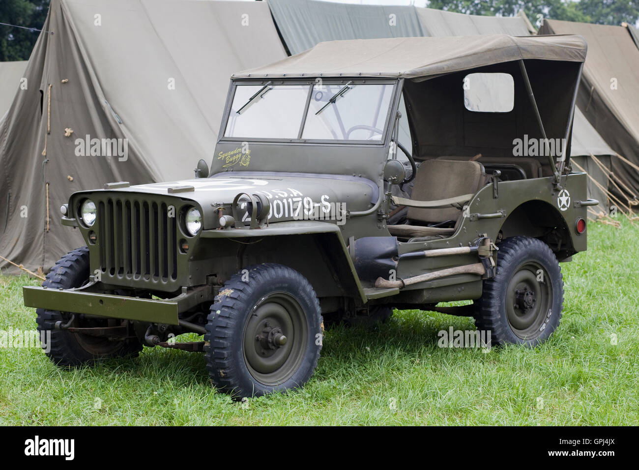 willys army jeep photos willys army jeep images alamy. Black Bedroom Furniture Sets. Home Design Ideas