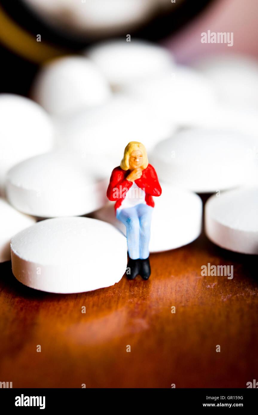 Concept de soins de santé et pharmaceutiques Photo Stock