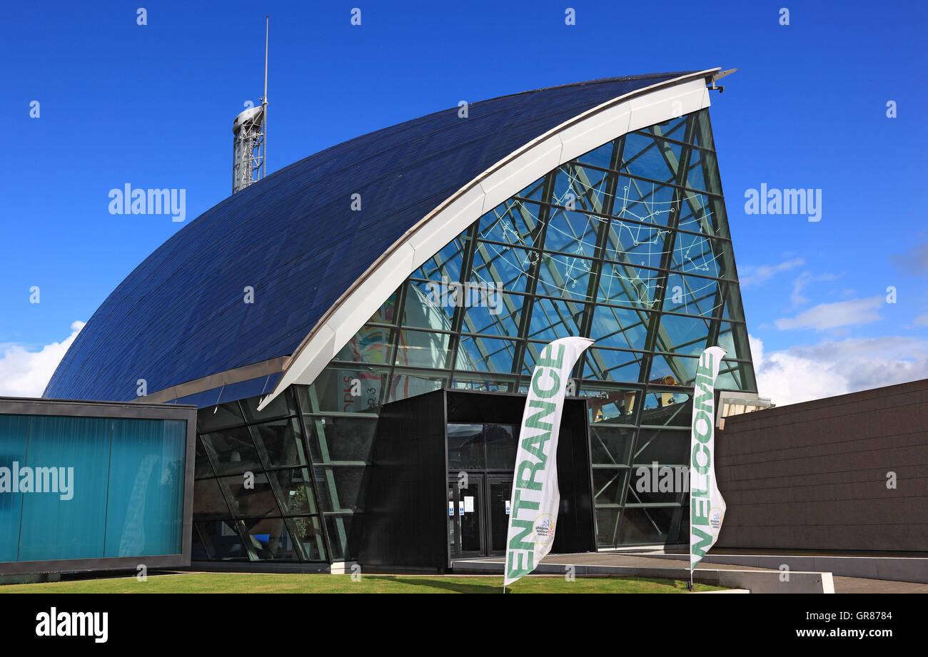 L'Écosse, la ville de Glasgow, une partie du Centre des sciences, science centre Banque D'Images