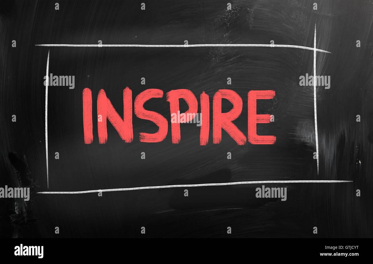 Concept d'inspiration Photo Stock