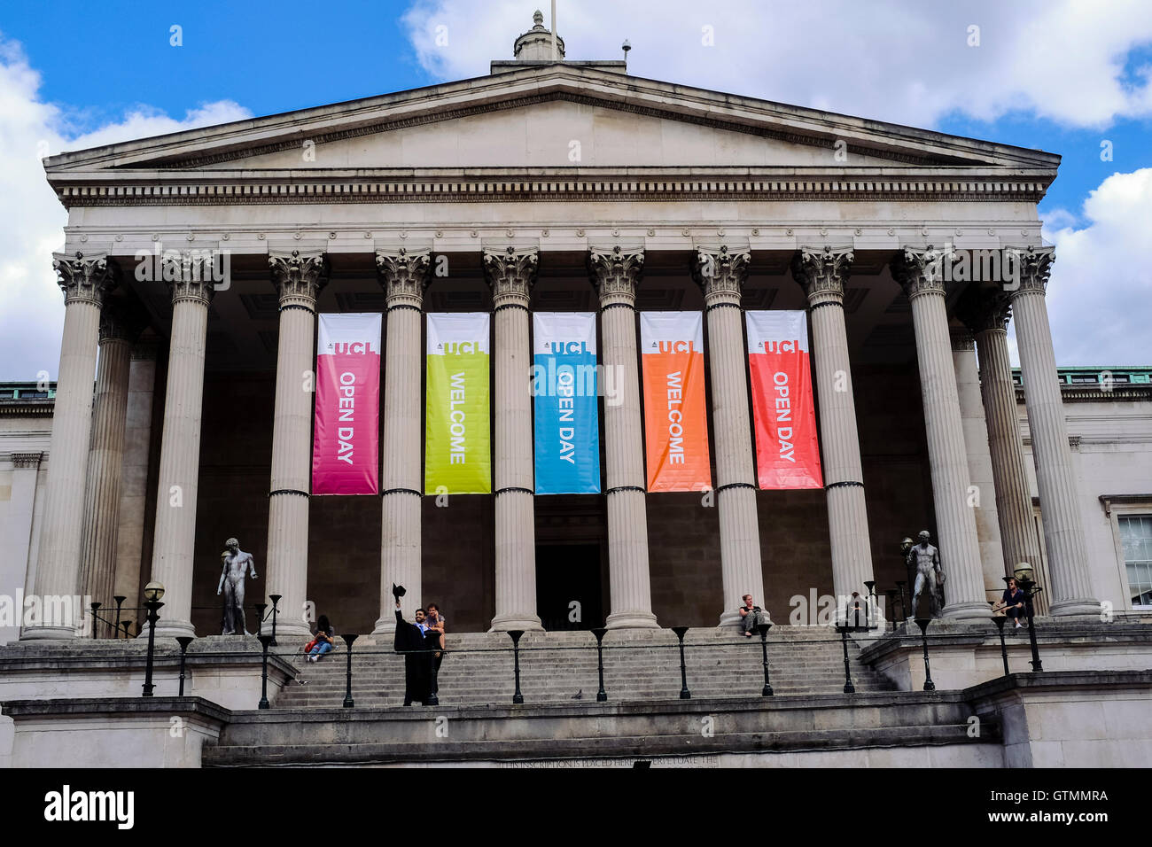 L'University College de Londres Photo Stock