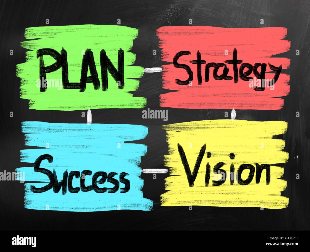 Concept de leadership Photo Stock