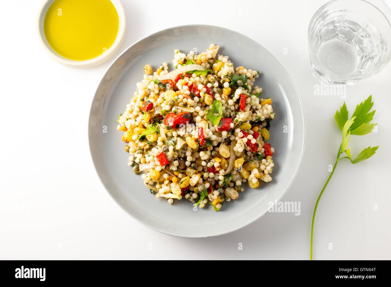 Couscous aux légumes Photo Stock