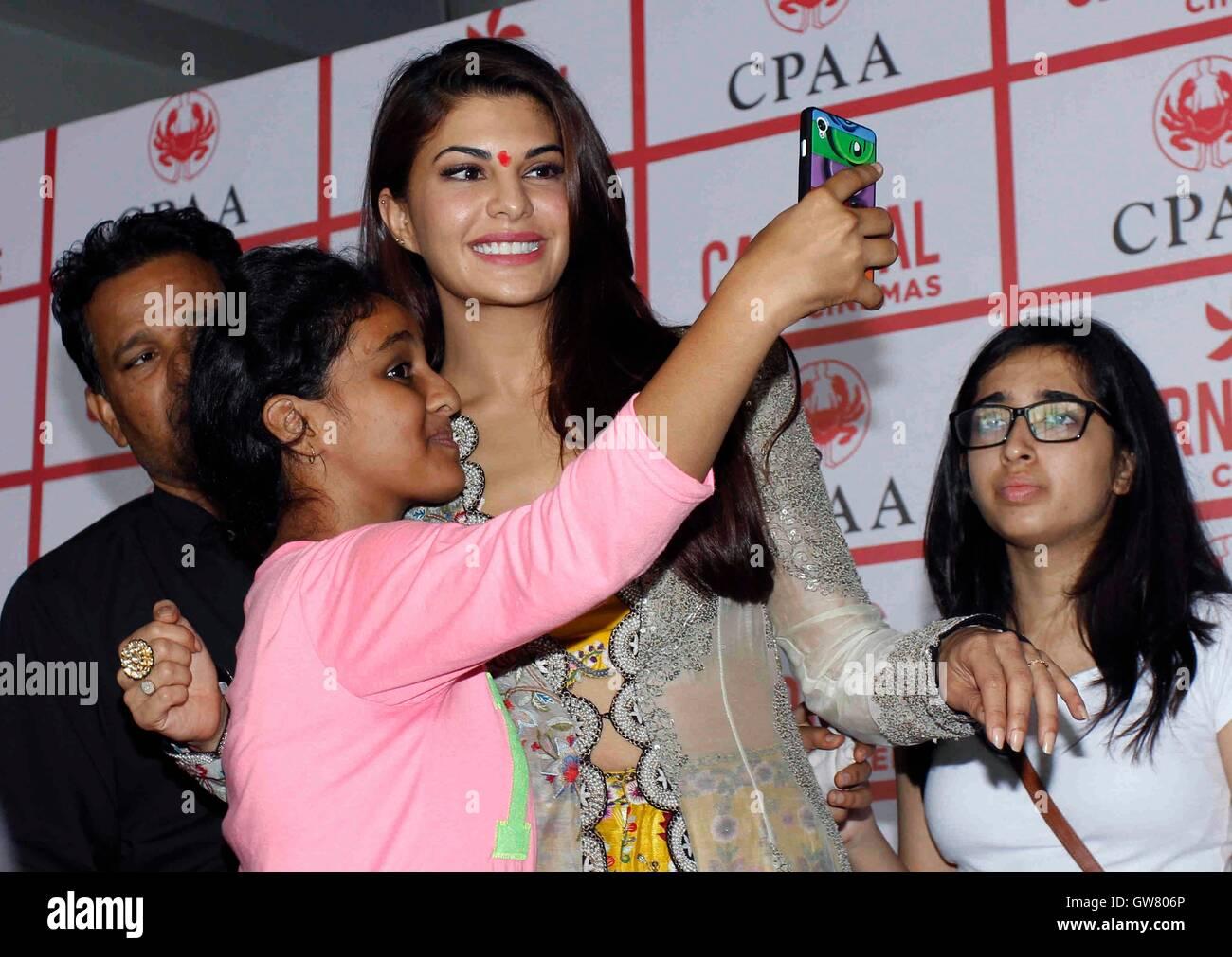 Bollywood acteur Jacqueline Fernandez A Day to Remember-mémoire de chérir un événement organisé Photo Stock