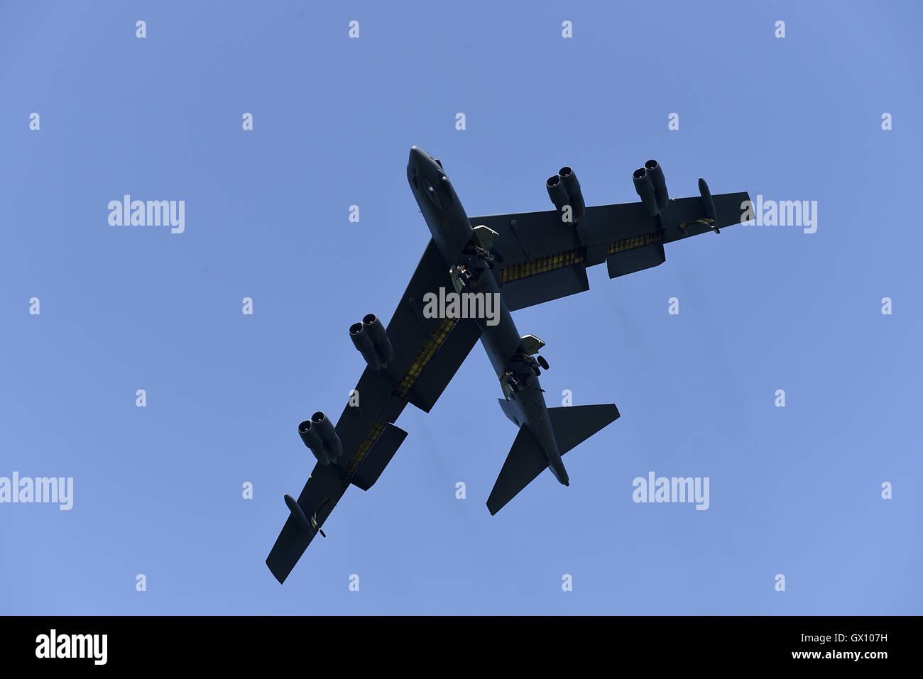 Bombardier stratégique américain B-52 Stratofortress Banque D'Images