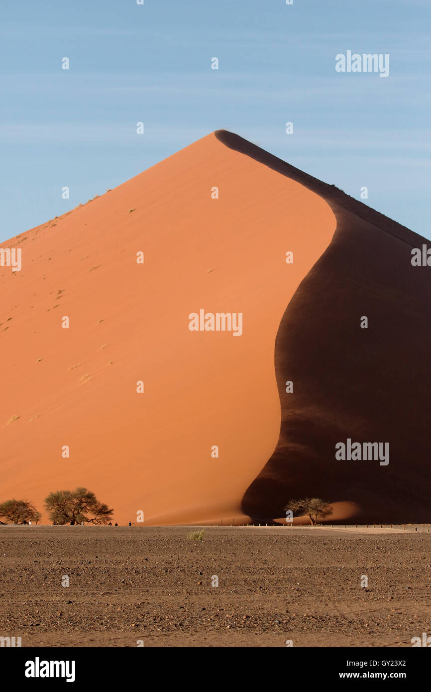 Namib Naukluft Sossusvlei, Namibie, août 2016 Photo Stock