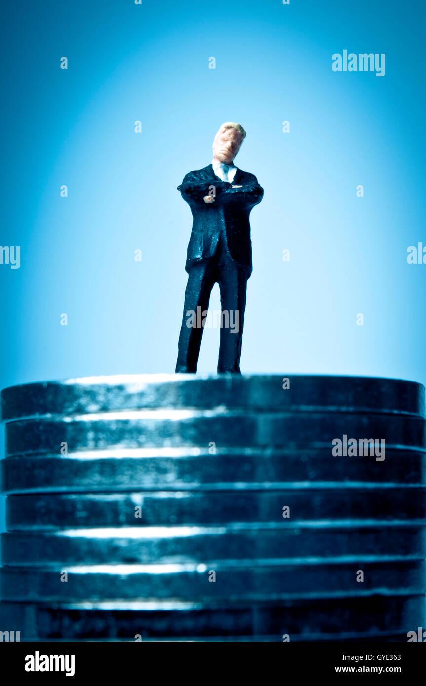 La réussite financière concept Photo Stock
