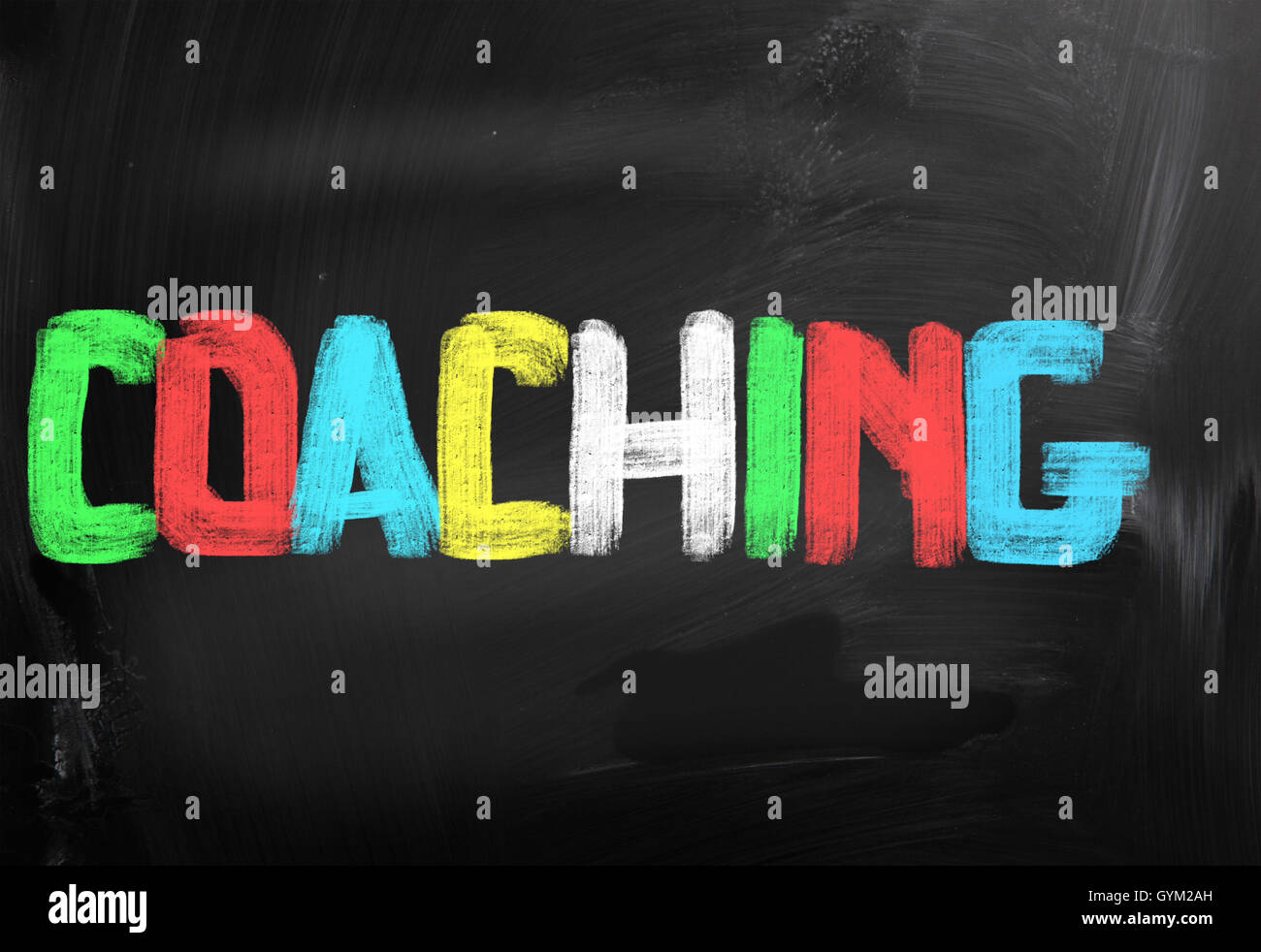 Concept de coaching Photo Stock