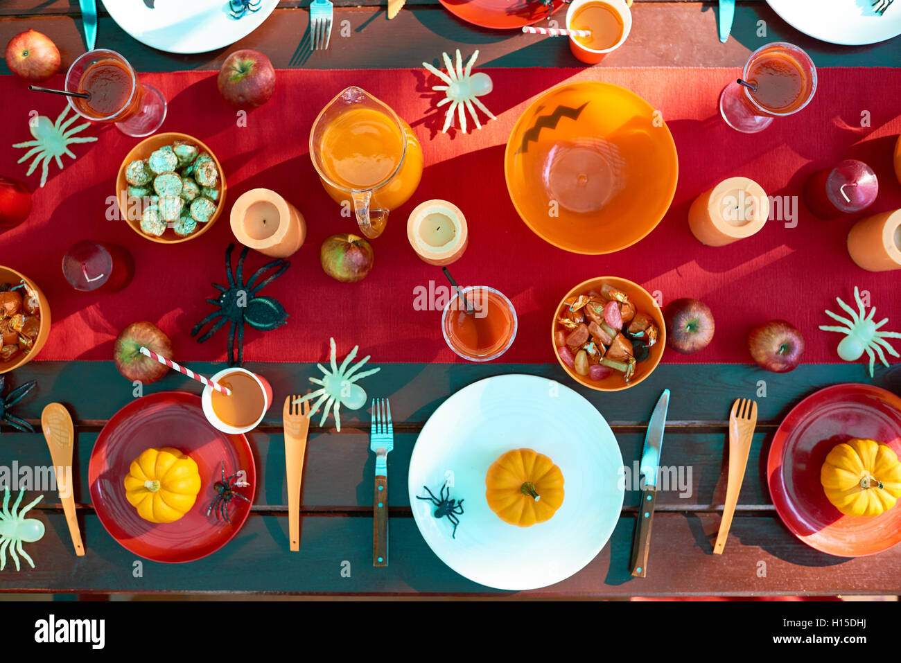 Trick-or-treat festivite Photo Stock