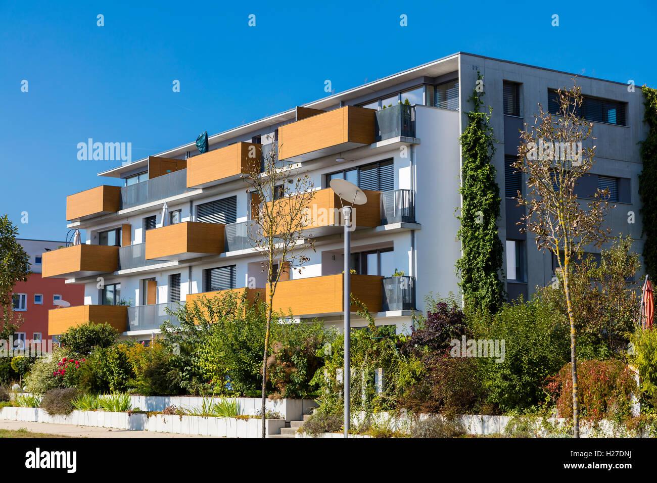 Nouvelle maison de vacances moderne Banque D'Images