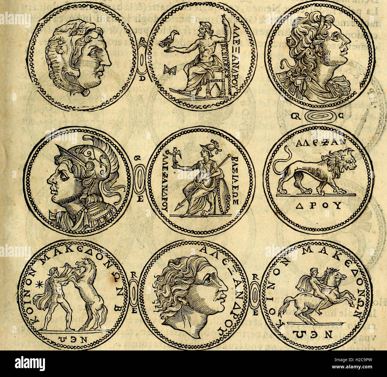 Dialoghi di don Antonio Agostini archivescovo di Taracona, intorno alle medaglie, inscrittioni, et altre antichità (1625) (1 Banque D'Images