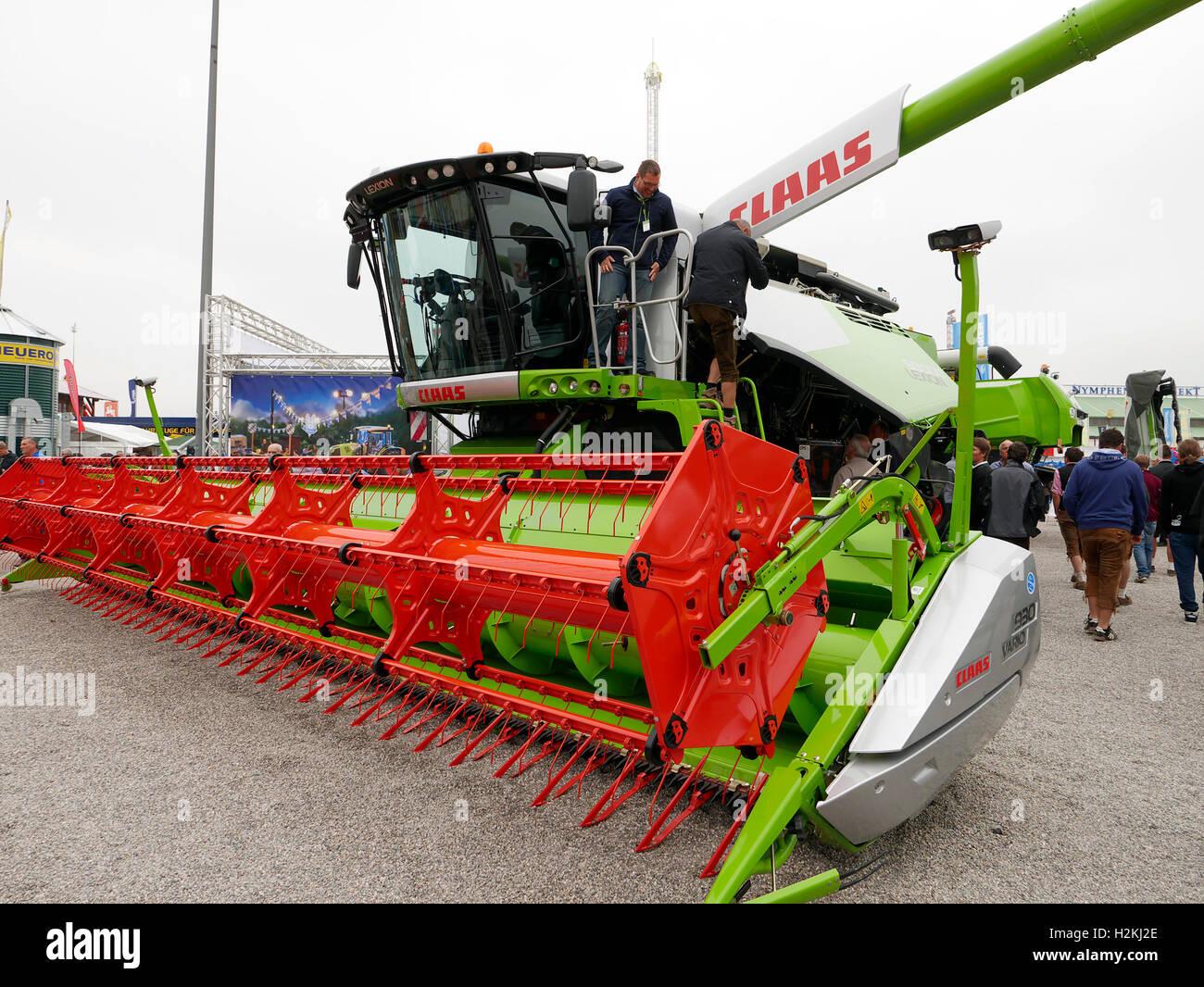 Salon de l'agriculture de Bavière Munich Allemagne Europe 2016 Banque D'Images