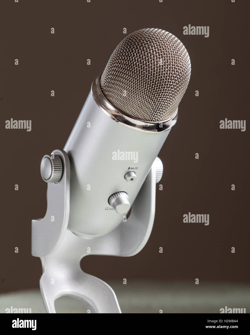 Microphone de bureau Photo Stock