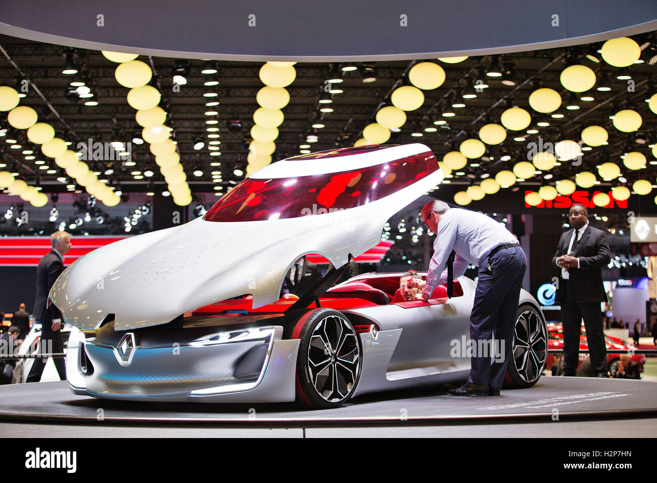 Concept Renault Trezor Banque D'Images