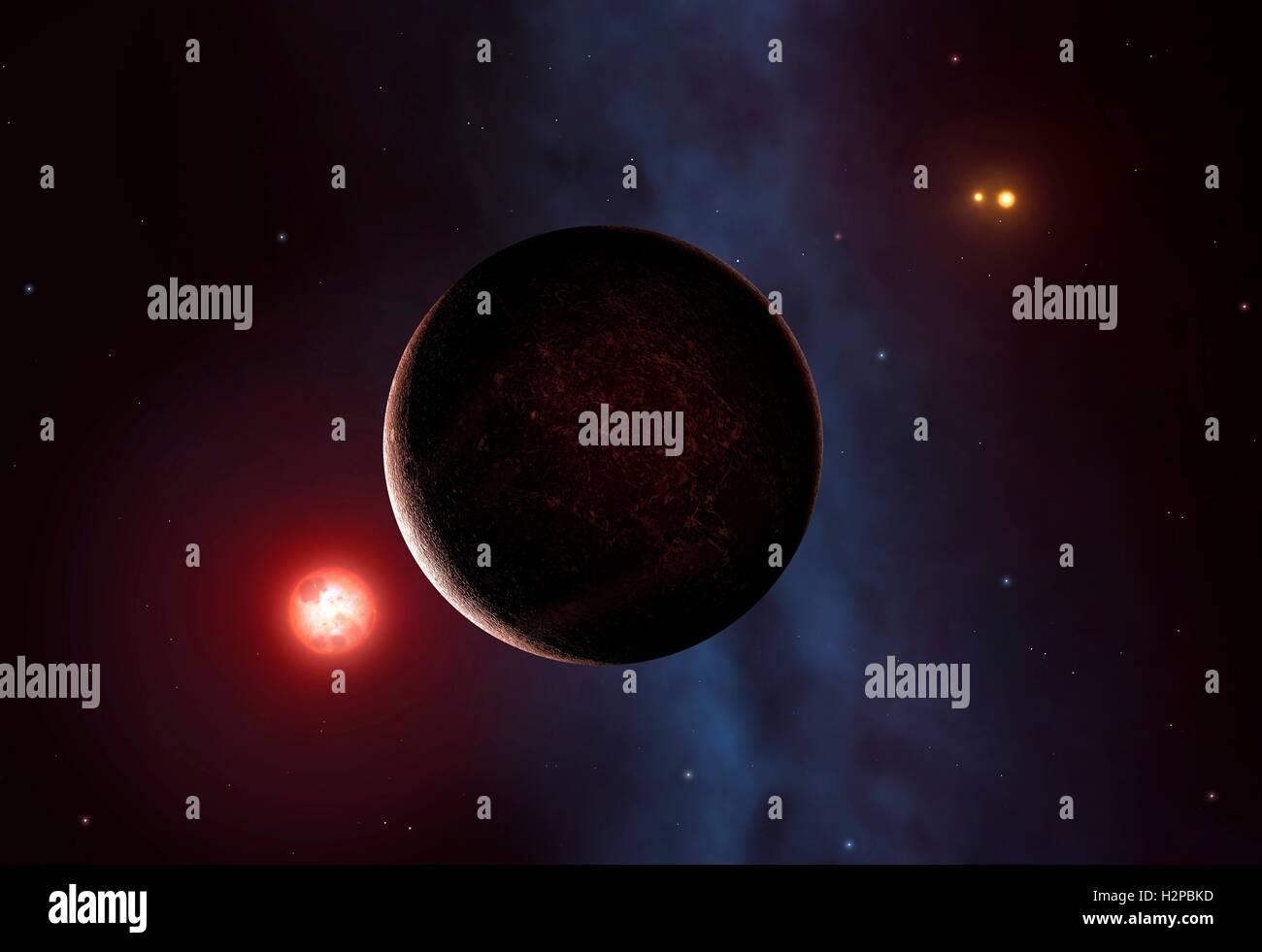 Planète Gaïa Astronomie étoiles Supernova Les