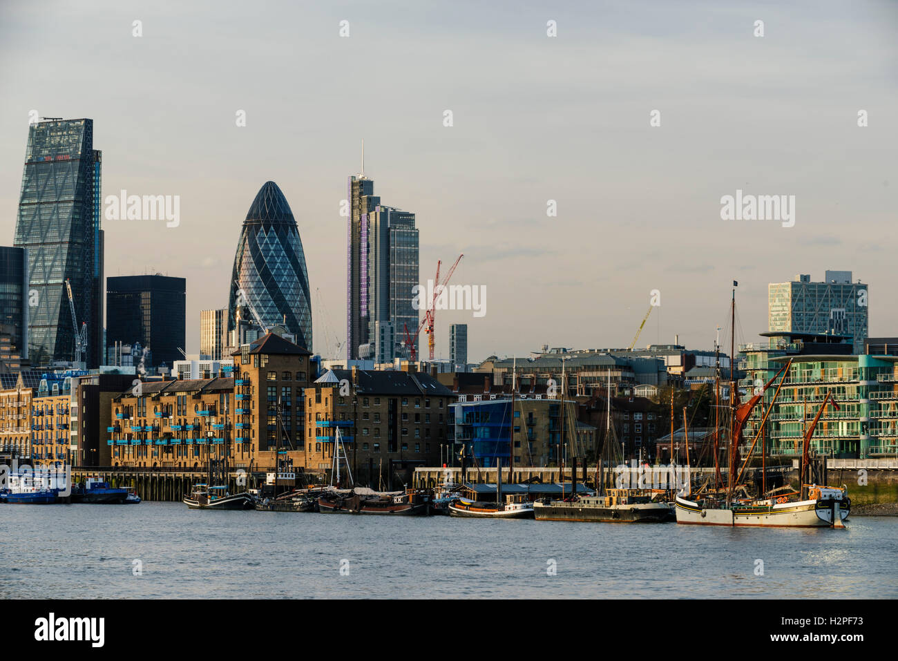 Vue de la ville de Londres, London, England, UK Photo Stock
