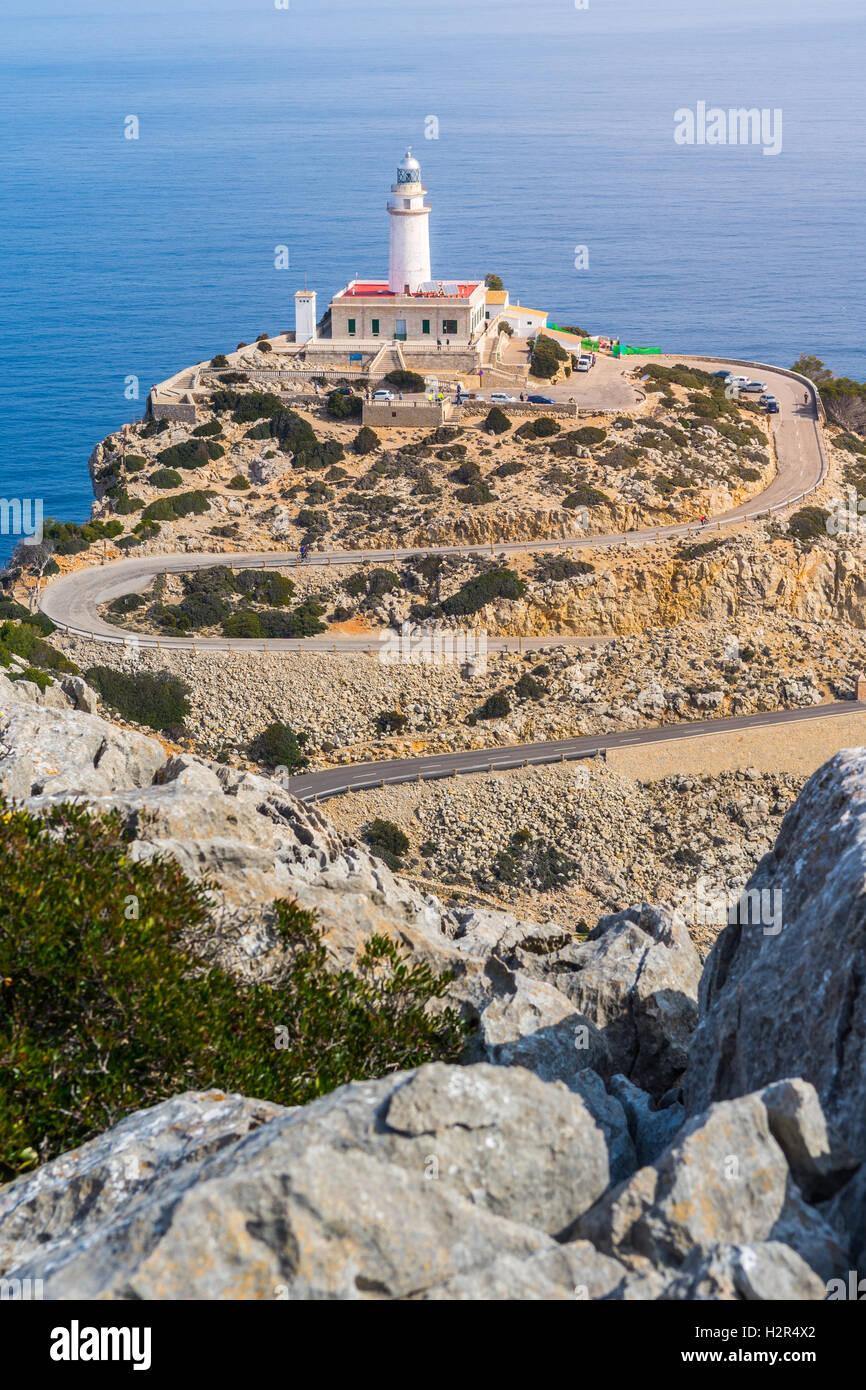 Cap Formentor, Majorque Photo Stock